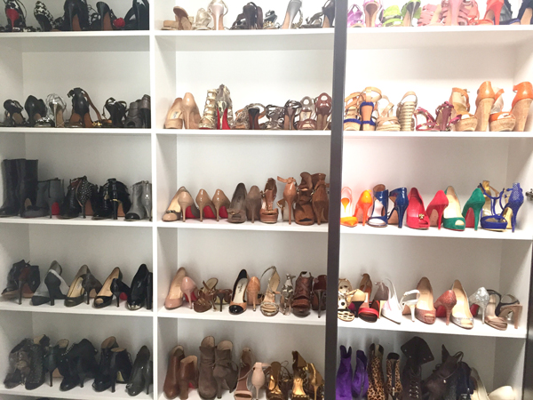 A view to die for shoe heaven -I love high heels!