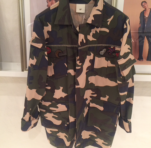 Sæsonen's carmuflage jakke