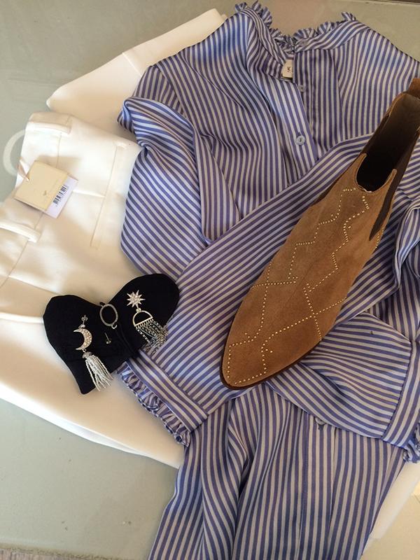 Smukke striber & hvide bukser…