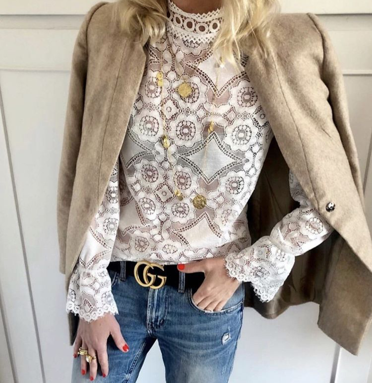 LACE TOP – TALES OF REBELS – BACK IN STOCK